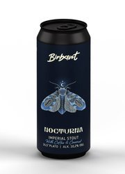 Birbant Nocturna - Imperial Pastry Stout - Cofee & Coconut