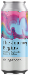 Maltgarden The Journey Begins - DDH Hazy Double IPA Taiheke & Galaxy